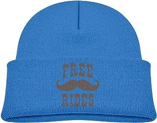 ADGoods Kids Children Free Mustache Rides Beanie Hat Knitted Beanie Knit Beanie For Boys Girls Gorra de béisbol para niños