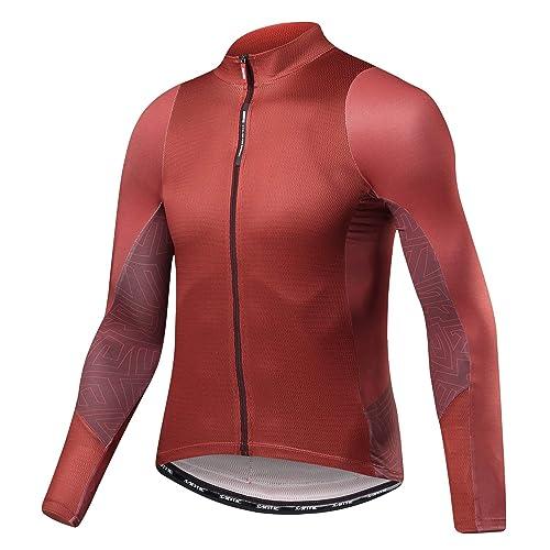 292c92b31 Santic Cycling Jersey Men s Long Sleeve Tops Mountain Bike Shirts Bicycle  Jacket with Pockets