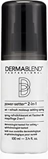 Dermablend Professional Power-Setter 2-in-1 Makeup Setting Spray - Sets Foundation, Blush, Bronzer, Eyeshadow & More for A...