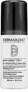 Dermablend Power-Setter 2-in-1 Set + Refresh Makeup Setting Spray for Long Lasting Makeup Wear, 3.4 Fl. Oz
