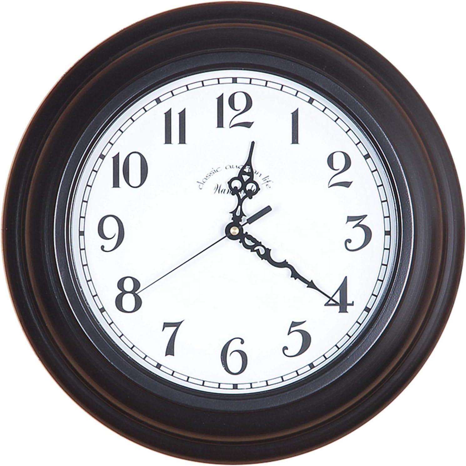 Max 51% OFF Wall Clock Silent Non-Ticking Battery Clocks Hanging Decorative Finally resale start