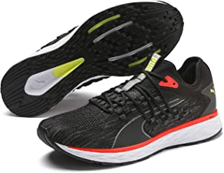 PUMA Men's Speed 600 Fucefit Sneaker, Black White-taos Tau