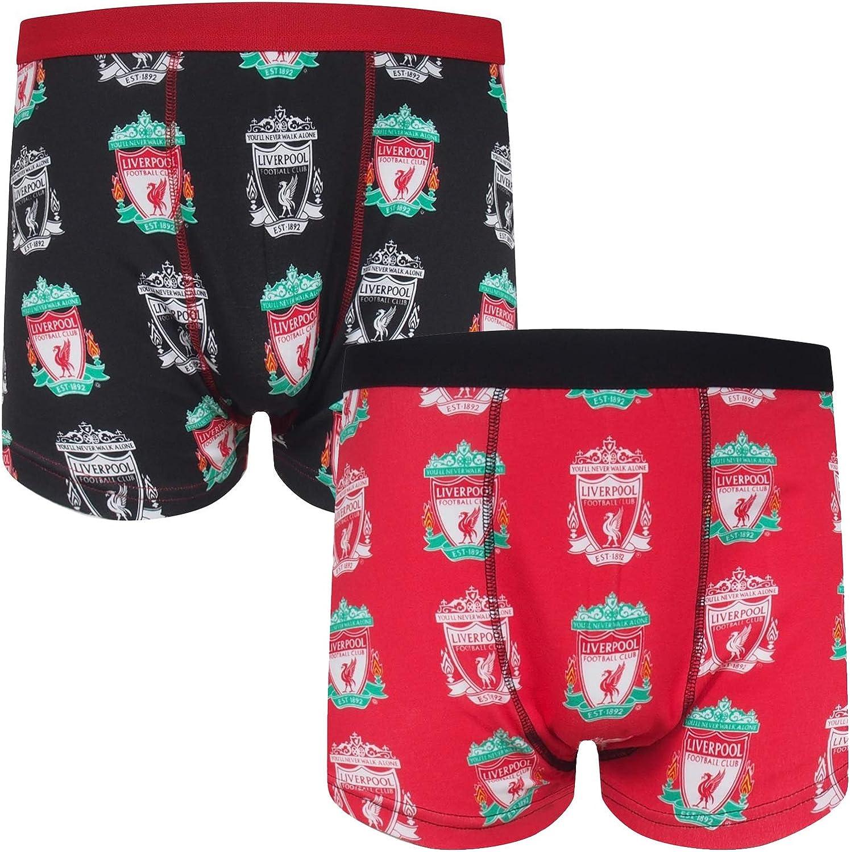Liverpool FC Geschenk f/ür Fu/ßballfans Jungen Socken /& Boxershorts Offizielles Merchandise