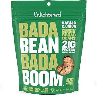 Bada Bean Bada Boom Roasted Broad Beans Garlic & Onion, 85gm