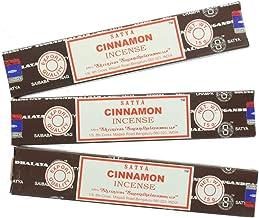 Satya Nag Champa Cinnamon Incense Sticks - 3 Packs