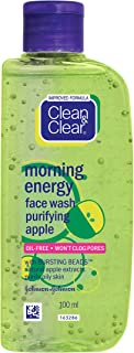 Clean & Clear Morning Energy Apple Face Wash, 100ml