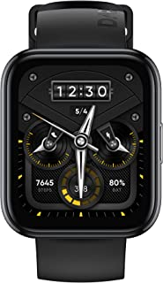 realme Smart Watch 2 Pro (Space Grey) with 1.75 inch (4.4 cm) HD Super Bright Touchscreen, Dual-Satellite GPS, 14-Day Batt...