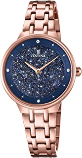 Festina watches Womens Analog Quartz Watch with Stainless Steel bracelet F20384/3