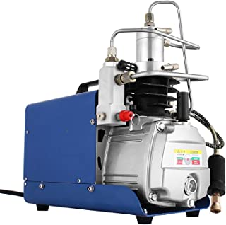 Smarketbuy Adjustable Auto-Stop 110V 30MPa Electric Air Compressor Pump High Pressure Airgun Compressor Rifle PCP Inflator Air Pump (30Mpa Auto-stop)