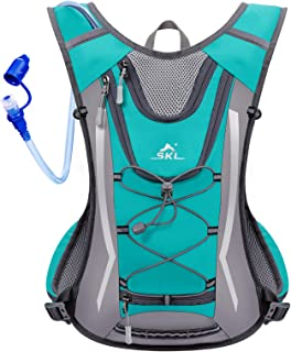 SKL Hydration Pack Hydration Backpack Vest with Water Bladder 2L, Daypack Insulated Adjustable Water Backpack Lightweight ...