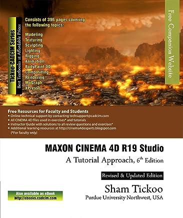 Amazon com: MAXON CINEMA 4D R19 Studio: A Tutorial Approach
