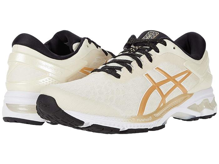 ASICS  GEL-Kayano 26 (Birch/Champagne) Womens Running Shoes