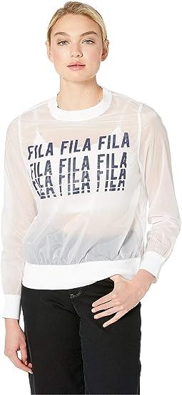 Sol Sheer Woven Sweatshirt