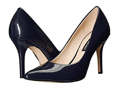 Nine West Flax Pump (French Navy 1) High Heels
