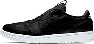 Air Jordan 1 Retro Low Slip Women's Shoes Black White Size: 8