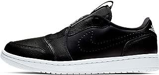 Air Jordan 1 Retro Low Slip Women's Shoes Black White Size: 8