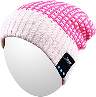 8cd7200e870950 Bluetooth Beanie Hat,Qshell Washable Winter Men Women Cap with Wireless  Stereo Headphones Mic Hands