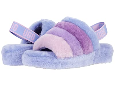 UGG Fluff Yeah Slide (Cornflower Multi) Women