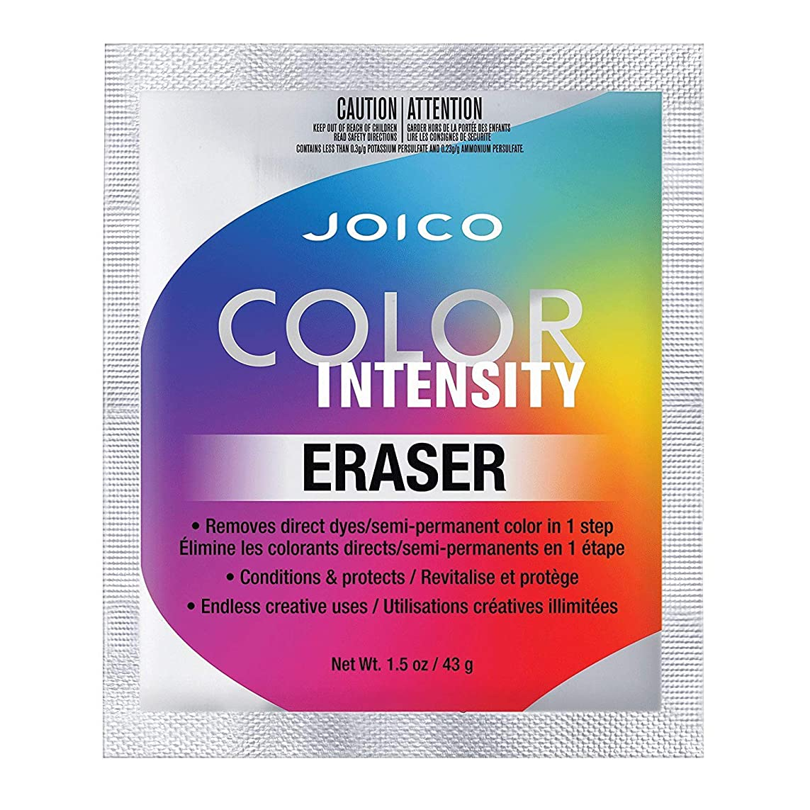 機会明るくする背骨Joico Colour Intensity Eraser 43g sachet