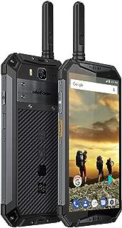 Ulefone Armor 3T Rugged Cell Phones Unlocked, IP68 Walkie Talkie Waterproof Smartphone, 10300mAh Big Battery, 5.7 Inch, 4GB+64GB,Android 8.1 4G Dual Sim Compass, NFC, Shockproof, Dustproof (Black)