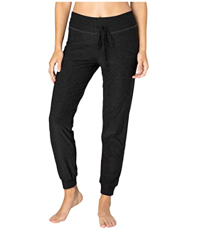 Beyond Yoga Lounge Around Midi Joggers (Darkest Night) Women