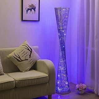 LOFAMI Moderne Creative Aluminium Lampadaire LED Décoration Atmosphère Chaude Lampe Éclairage Intérieur Parfait pour la Ma...