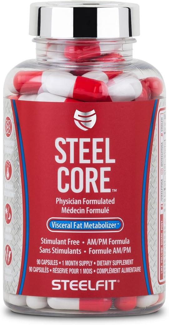 SteelFit Steel 25% OFF Core - Stimulant Free Turn Burner to En unisex Fat