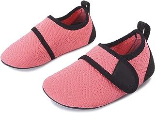 L-RUN Kids Swim Water Shoes Barefoot Aqua Socks Shoes Beach Pool Surfing Yoga
