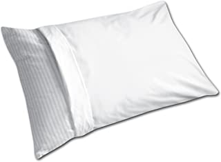 Levinsohn Easy Care Pillow Protector Soft with Zipper Closure White, Standard, (6 Pack)