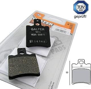 Pastillas de freno de repuesto Galfer compatibles con Aprilia SR 50, Yamaha Aerox 50, Gilera Runner 50 (S10)