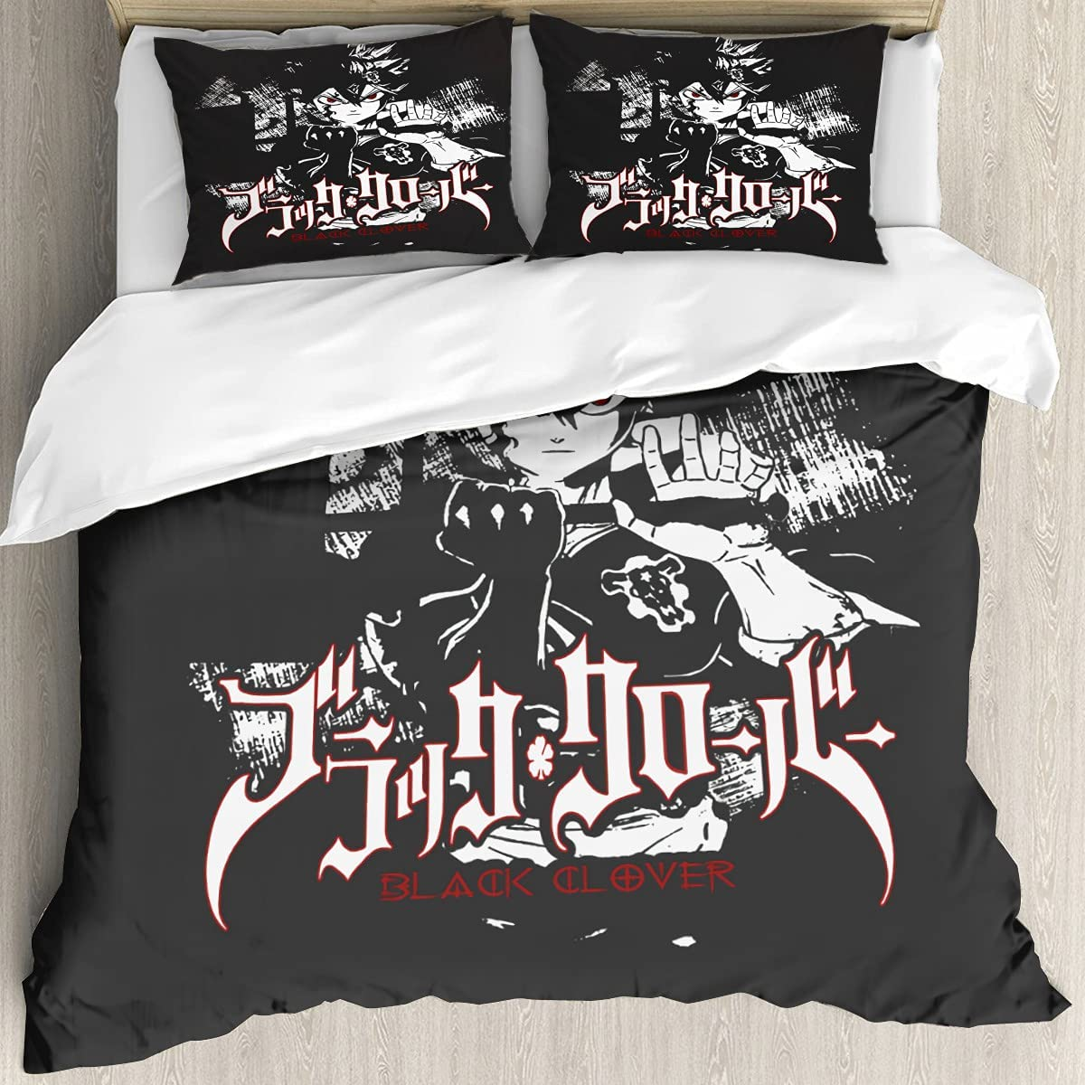 yiliusu-Black Clover Aster-Printing Quilt 2021 model Cover Siz Set Twin Bed Nippon regular agency