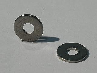 Large Washers PA M3 25 x M3 grosse Kunststoff-Unterlegscheiben Nylon DIN 9021