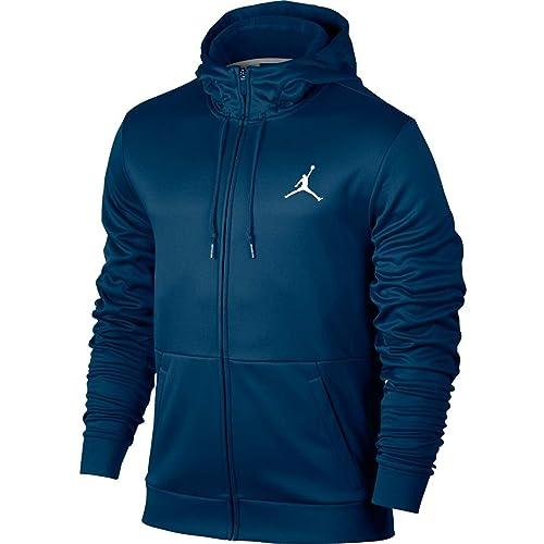 ec8c372543eee3 Nike Mens Jordan Therma Alpha 23 Full Zip Hoodie