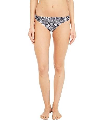 Roxy Pop Surf Moderate Bikini Bottoms (Bright White/Pop Animal) Women