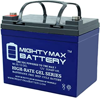 Mighty Max Battery 12V 35AH Gel Battery Replaces UPS Backup Interstate DCM0035L Brand Product