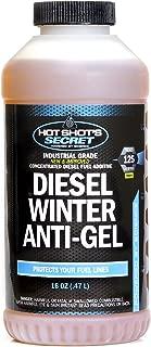 Hot Shot's Secret P403316Z Amber Diesel Winter Anti-Gel 16 OZ, 16. Fluid_Ounces