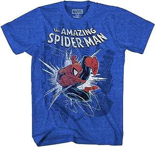 Marvel Boys' Big Amazing Spider-Man T-Shirt