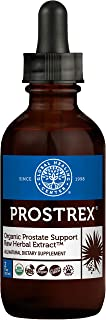 Global Healing Prostrex Organic Liquid Drops - Prostate Support Supplement for Men with Saw Palmetto DHT Blocker - Support...