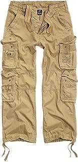 Brandit Pants Pure Vintage 1003, Size:XXL, Color:Beige