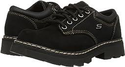 Black Scuff Resistant Leather