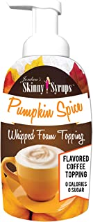 Jordan's Skinny Syrups - Pumpkin Spice Whipped Foam Topping