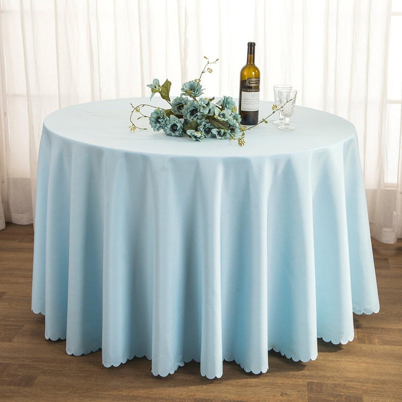 WAZY Tischtuch Tischdecke Stoff Tee Tischdecke Hotel Restaurant Polyester Tischdecke Konferenztisch Rock Hochzeit Jacquard Runde Tischdecke Öl-Besteändig Leicht zu reinigen (Farbe   O, größe   300cm) B07CSTGP25 Einfach zu bedienen  |
