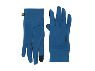 Burton Kids Screen Grab Liner Glove (Youth) (Classic Blue) Extreme Cold Weather Gloves