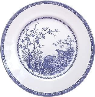 Cuthbertson Blue Quail Bread & Butter Plate, 7 1/8