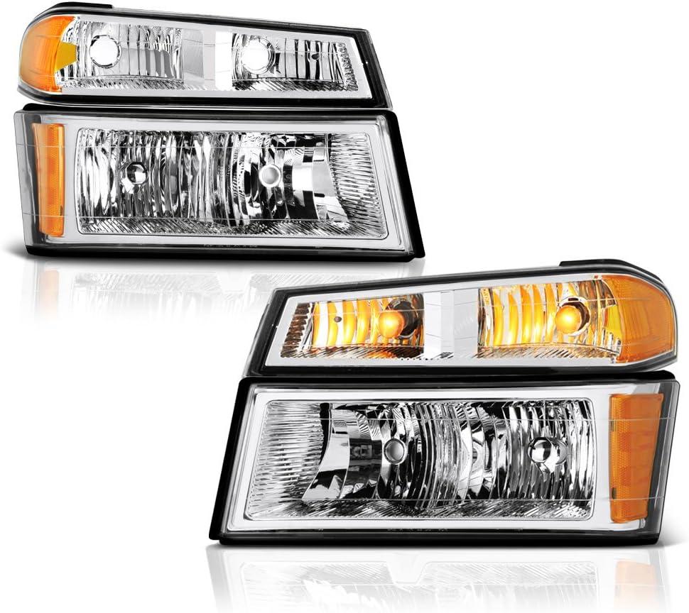 VIPMOTOZ Chrome Housing OE-Style Assembl お気にいる Headlight 今季も再入荷 Signal Lamp