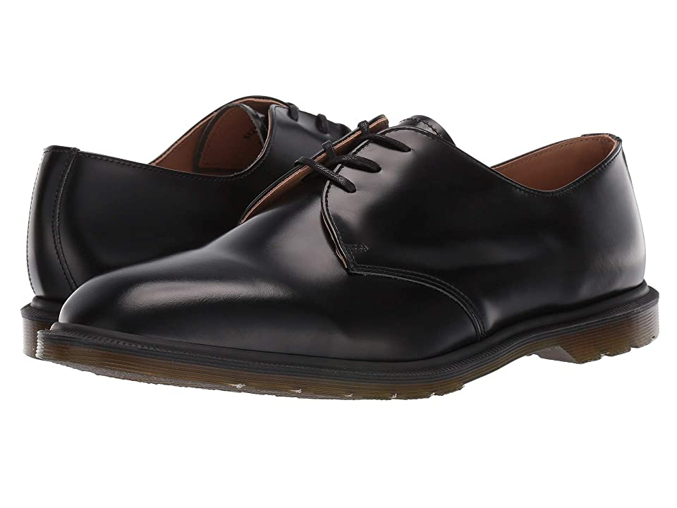 Dr. Martens Archie Made In England (Black Polished Smooth) Boots