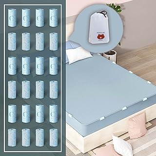 RCGvhfs Antislip bedlaken vaste clips, bedlaken houder riemen volledige grootte, bedlaken matrashoes dekens plastic grijpe...