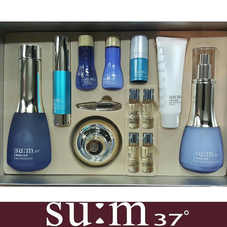 プレゼン影響力のあるハンカチ[su:m37/スム37°] SUM37 WATER FULL Special Set/ sum37 スム37 ウォーターフル 3種企画セット+[Sample Gift](海外直送品)