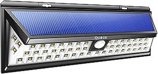 Quace Solar Power Outdoor Motion Sensor Light (Black, Plastic)
