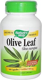 Nature'S Way - Olive Leaf 500 Mg. 100 Vegetarian Capsules